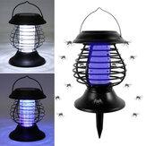 Lâmpada de Assassino de Mosquito elétrico Casa LED Bug Zapper Armadilha de Insetos Anti Mosquito Carregamento Solar