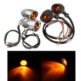 Harley Cruiser Chopper için Çift Işık Sinyalleri Işık Honda / Suzuki / Kawasaki/Yamaha