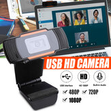 1080P Upgrade Webcam Auto Focus Web Cam Cam com microfone para PC Laptop