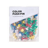 Jordan&Judy JJ-YD0026 Colored Push Pins Binder Clips Metal Thumb Tacks Map Drawing Push Pins Crafts Office Accessories School Supplies Stationery