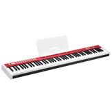 BORA BX2 88 klawiszy Klawiatura wrażliwa na prędkość Klawisze oświetlenia LED Elektroniczne pianino