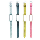 Pure Color Bright Stars Watch Strap Watch Band for Xiaomi Miband 3 / Miband 4 Non-original