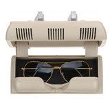 Araba Gözlükler Kutu Tutucu Güneş Gözlüğü Kılıf Skoda Fabia Octavia Roomster için Plastik Depolama Kutu