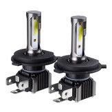 المصابيح الأمامية للسيارات M2 COB LED H1 H4 H7 H8/H9/H11 9005 9006 36W 6000LM 9-36V 6000K White IP68 ضد للماء 2Pcs