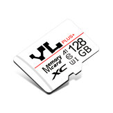 YL YLJT16G TF Memory Card 32GB/64GB/128GB A1 C10 U3 Data Storage MP4 MP3 Card for Car Driving Recorder Security Monitor Camera Card Speakers