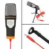 SF666 Professionele condensatormicrofoon voor computer Laptop Singing Speech Meeting Desktop Studio 3,5 mm microfoon