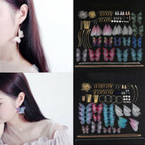 Handmade Earrings Jewelry Making Material Large Beautiful Dragonfly Butterflies Wing Earrings