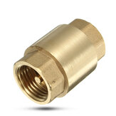 1/2 Inch Brass Non Return Valve Vertical Check Valves for Water