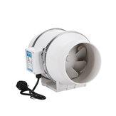6-calowy 75W cichy wentylator wyciągowy, hydroponiczny, przemysłowy wyciąg wydechowy