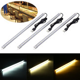 35CM 7W 24 SMD 5630 USB LED Rigid Strip Hard Bar Light Tube Lamp DC5V