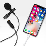 Bakeey E1 Wired Microphone Mini 3.5mm Type-C Microphone Lavalier Condenser Recording Vlogging Video Live Microphone for iPhone Huawei