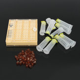 Bee Queen Rearing Cell Cupkit Box Case For Cupularve System Beekeeping Tools Set
