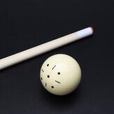 1pcs Biliardo in resina beige Spot Pool Snooker Practice Traini