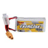 Sologood 7.4V 1500mAh 25C 2S Li Batería XT60 Plug RC Coche Piezas 70 * 34.5 * 17mm