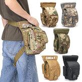 Perna militar multifuncional tática Bolsa à prova d'água Mini cintura esportiva ao ar livre Bolsa Bolsa de camuflagem de caminhada para viagem para homens e mulheres