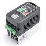 220V 1.5KW entraînement à fréquence variable VFD onduleur 1HP à 3HP Variateur de fréquence VFD VSD