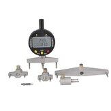 Цифровой датчик среднего диаметра Цифровой индикатор радиуса действия с 5 сменными измерительными губками Измерение Инструмент