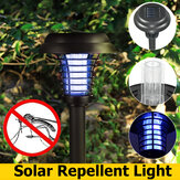 Solar Power LED Light Mosquito Pest Bug Zapper Insect Killer Lawn Lamp Garden