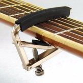 Sintonizar gatillo cambio rápido capo llave de la abrazadera para la guitarra clásica eléctrica acústica