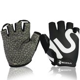 Unisex Фитнес Bike Перчатки Silica Гель Анти Slip Appliance Dumbbell Sports Glove