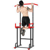 KALOAD Adjustable Height Parallel Bars Multifunctional Single/Parallel Bar Abs Core Strength Training Fitness Gym Home