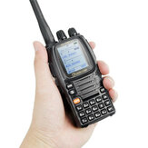 Wouxun KG-UV9D Plus Doble Banda Transmisión Cruz Banda Repetidor de aire Banda Walkie Talkie Bidireccional Radio