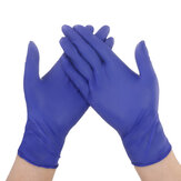 DIGOO 100PCS Disposable Nitrile Protective Gloves No Powder & No Latex & Puncture Resistance & Tear Resistance Glove
