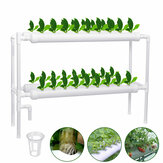 110-220V Hydroponic Grow Kit 36 Sites 4 Pipes 2-Layer Garden Plant Vegetable Tools Gardening Box Nursery Pots Hydroponic Rack