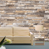 3D Wall Paper Brick Stone Шаблон Vinyl WallPaper Roll Living Room TV Background Decor