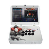 PandoraBox 3D 4018 Games Arcade Game Console 14 inch IPS 1080P HD Display Ondersteuning Wifi TV-uitgang Retro Arcade Fight Stick Rocker Controller