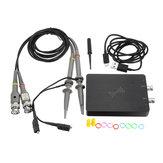 Oscyloskop DSCope Przenośny oscyloskop próbkujący 50M 200M Dwukanałowa przepustowość zasilania USB Narzędzia pasażera Analizator stanów logicznych