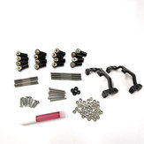 1 Set MN-90 1/12 Upgraded Rc Car Spare Parts All Metal Pull Rod +Holder