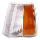 Lado de la esquina de la luz de estacionamiento Cubierta transparente Lente Delantero izquierdo para Volvo 740 940 960