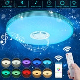 40cm 36W LED RGB Music Ceiling Lamp bluetooth APP/Remote Control Kitchen Bedroom Bathroom