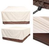 WaterdichtetuinterrasmeubilairCoverOutdoorrotan tafel UV stof Rain Proof Protector