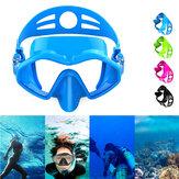 HhaoSport M6113 Mergulho Máscara Snorkel Máscara Ajustável Silicone Óculos de mergulho anti-vazamento e anti-fog anti-nevoeiro Máscara