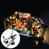 DIY LED Light Lighting Kit ONLY For LEGO 21319 Friends Central Park Cafe Bricks Toys