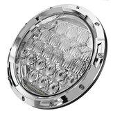 7 İnç 75W 6500K Motosiklet Paslanmaz LED Farlar 5D Lens Uzun/Kısa Far Su Geçirmez IP67