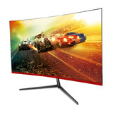 32-Inch Curved Gaming Monitor 144HZ 1920*1080 Full HD 16:9 IPS Display Screen 178° Wide Angle View DVI-D/HDMI Audio Interface