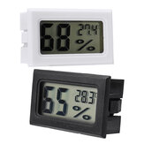 Excellway Mini Embedded LCD Digital Display Temperature Humidity Meter Cordless Thermometer Hygrometer