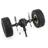 JJRC Rear Bridge Axle For Q60 1/16 2.4G Off-Road Military Trunk Crawler RC Car
