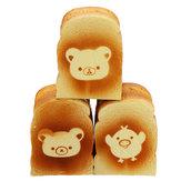 Хлеб Squishy Giant Bear Toast 13CM Ароматизированный Soft Игрушки Подарочная коллекция с упаковкой