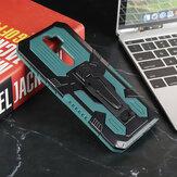 Bakeey per Xiaomi Redmi Note 8 Pro Custodia robusta a doppio strato Armor Magnetica con Cintura Supporto per clip Antiscivolo Anti-impronte antiurto Pro Custodia protettiva non originale