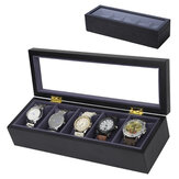 5 Slots with Pillow Watch Boxes Jewelry Box