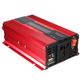 1000W Spitze 12V / 24V zu 110V / 220V Solar Power Inverter LCD Display