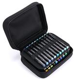 Chenyu BD-11-40 Federmäppchen für Schüler Malerei Aufbewahrungstasche 40-Farben-Volltonfarbe Marker Pen