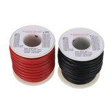 EUHOBBY 5m 10AWG Soft Silicone Linha Cabo de cobre estanhado de alta temperatura Fio para RC Bateria