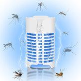 4LED Elétrica UV Lâmpada Assassina de Insetos Mosquito Fly Bug Pest Plug In Trap Zapper Light