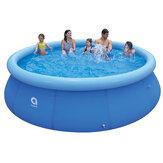 बच्चों के Inflatable स्विमिंग पूल बड़े परिवार ग्रीष्मकालीन आउटडोर चलायें पीवीसी स्विमिंग पूल बच्चों Inf