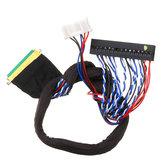 Écran 40P 2CH 6 bits LVDS Câble de carte de conducteur universel LCD pour écran LED pour ordinateur portable